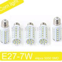 SMD5050 7W 704LM 220v Warm white/white 44pcs LEDs LED Bulb Light