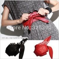 FREE shipping 2014 new fashion female Slender waist belt women han bowknot slender waist belt ladys' belt beautiful belt women