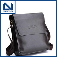 2013 new high quality composite leather POLO leather men's bags fashion leisure shoulder hand inclined shoulder bag C10060