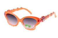 Free shipping 2013  Hot Sale UV400 New Kids Sunglasses Printing Pattern Glasses Frame Beach Child Sun glasses 20pcs/lot FS1204