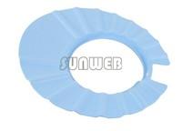 5pcs/lot Baby Child Kid Foam Shampoo Bath Shower Wash Hair Shield Hat Cap Yellow / Pink / Blue freeshipping SV16 4478