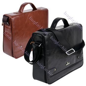 New arrival Men's Leather bag briefcase men Messenger handbag Casual High Quality 9389