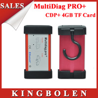 2014 New Arrival Multidiag Pro+ Bluetooth With 4GB TF Card Same Function As CDPPlus Multi-language Auto diagnostic tool