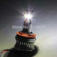 LED Angel Eyes H8 20W Upgrade Marker Bulbs halo ring No OBC (on-board computer)error messages For BMW X5 E92 E93 E87 E70 E60 E90