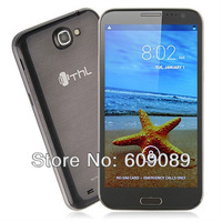 2013 SG post free! In stock 5.7inch THL W7 W7s MTK6589 Android 4.2 Smartphone with 4GB ROM + 1GB RAM Free Original flip case