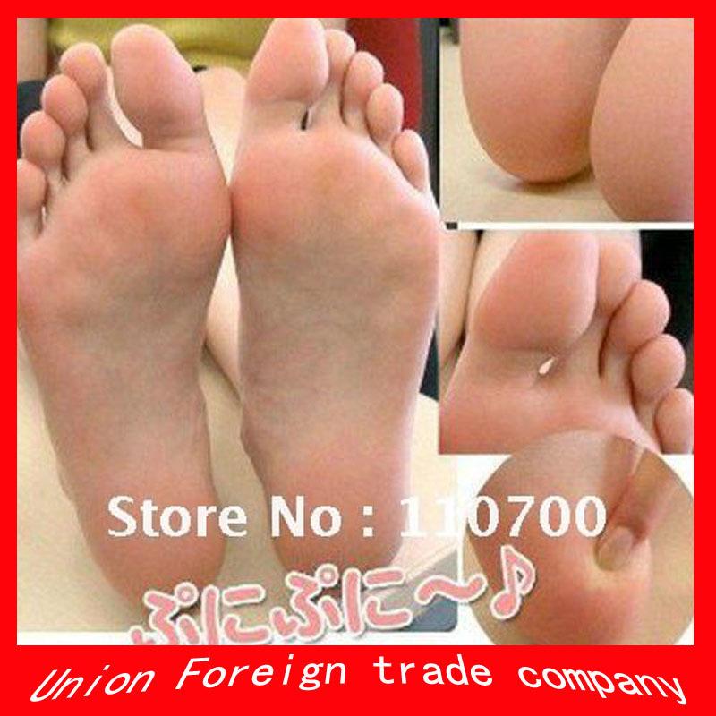 5 pairs=10pcs/lot Butterfly exfoliating foot mask Remove beriberi and callosity feet sox foot health care(China (Mainland))
