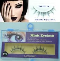 5 pairs Freeshipping MINK FUR Eye Lash extension, Artificial Fake False eyelashes BHD 9 Wholesale
