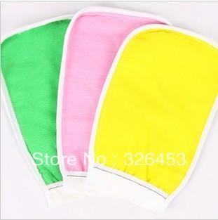 Free shipping !Cheap price !  shower towel hammam scrub mitt magic peeling glove exfoliating bath glove
