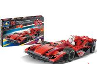 KAZI 118pcs/set DIY Quick Speed Power Race Car Children's Educational Plastic Toy Buiding Blocks Set 6503, Free Shipping