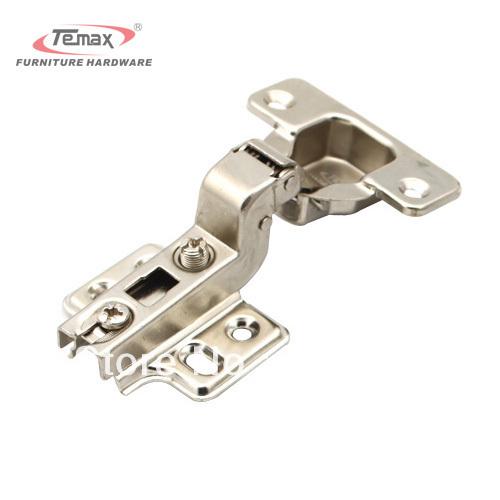 35mm Cup Concealed Hinge INSERT Satin Nickel Kitchen Cabinet Furniture Hardware Door Without Damper(China (Mainland))