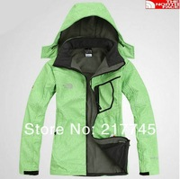 HOT ! 2013 spring autumn new High quality women coat sports jacket outdoor waterproof climbing clothes / Free Shipping