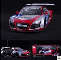 Free shipping Audi R8 LMS models displays 1:14 car version of the remote control car model car gift 47510