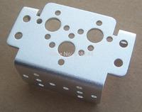 Free shipping 10x Aluminum Multipurpose Brackets For Standard Servos And Robot Arm Mechanical Robot Mount Wholesale Retail