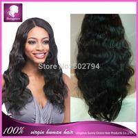 6A Glueless Brazilian Lace Front Wigs 130% Density #1#1b#2#4#6 Body Wave Virgin Human Hair Front Lace Wigs