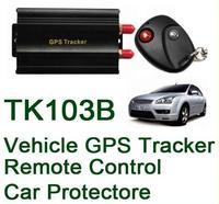 COBAN TK103B Vehicle/Car GPS tracker+Remote Control GPS103 Car Alarm Quad-band SD card slot PC&website GPS tracking system