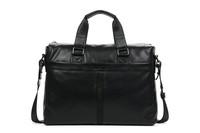 fashion Briefcases Man Portfolio Leather bag style Danjue brand D3041-1