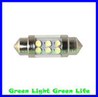 300pcs/lot car led festoon light/auto led festoon lamp/auto led festoon bulb festoon led 6LED 36mm/39mm/42mm/44mm