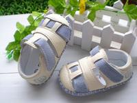 Genuine Leather Brand Natural Cowhide Antislip Super Soft Shoe Children First Walker Leather Shoe Baby Boy Girl Kid Shoe Sandals