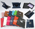 360 Degree Rotating PU Smart Cover without oil finish For iPad 2 3 4 9.7 inch Leather Case Free Shipping