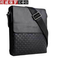 Hot sale!! LENWE BOLO fashion men genuine leather shoulder bag messenger bag,free shipping