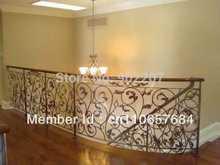 wrought iron railing, wrought iron railing for stairs wrought iron stair railings(China (Mainland))