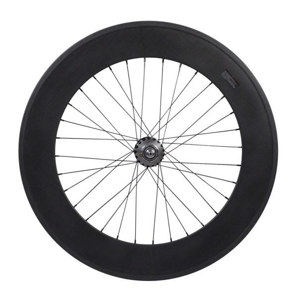700C 23mm Width 88mm Clincher Carbon Fiber Track Wheel Fixed Gear Rear wheel(Hong Kong)