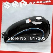 NEW OEM QUALITY SUZUKI GN250 FUEL ( PETROL GAS ) TANK, BLACK(China (Mainland))