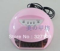 Orange 12W LED Gel Nail Art Lamp Portable Nail Dryer Curing Light Home / Salon 220v