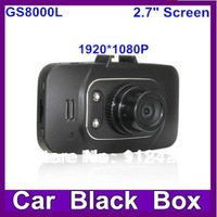 "GS8000L Car DVR 1080P Novatek+Glass lens +1920*1080+2.7""+HD+ 4 IR Lights + Wide Angle 140 Degrees+car camera GS8000"