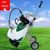 2015 Free shipping Hot sale 3pcs Golf Pens with Mini Golf Bag Golf pen