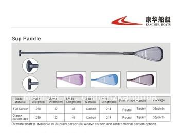 Fiberglass SUP paddle