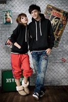 2013 New Arrival Spring Slim Sweatshirt Wholesale's Fashion Simple Design Hoodie Long Sleeve Hooded Coat Free Shipping
