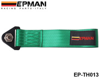 EPMAN - Universal Towing Ropes tow strap (default color is green) orange,blue,green,red,black,brown,gray EP-TH013