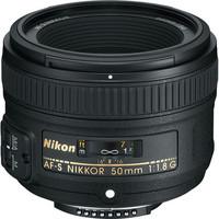 Nikon 50/1.8G AF-S Nikkor 50mm f/1.8G Lens for Nikon D3300 D3100 D3200 D5300 D5200 D90 D7000 D7100  D300 D600 D700 D800 D3 D4