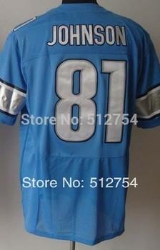 #81 Calvin Johnson Jersey,Elite Football Jersey,Best quality,Authentic Jersey,Size M L XL XXL XXXL,Accept Mix Order