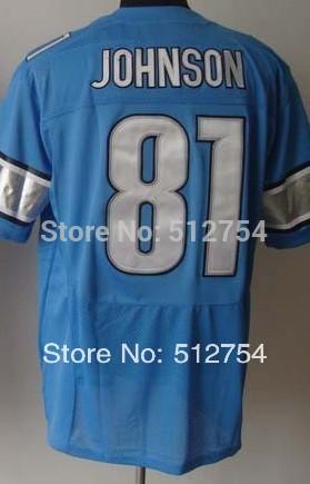 #81 Calvin Johnson Jersey,Elite Football Jersey,Best quality,Authentic Jersey,Size M L XL XXL XXXL,Accept Mix Order(China (Mainland))