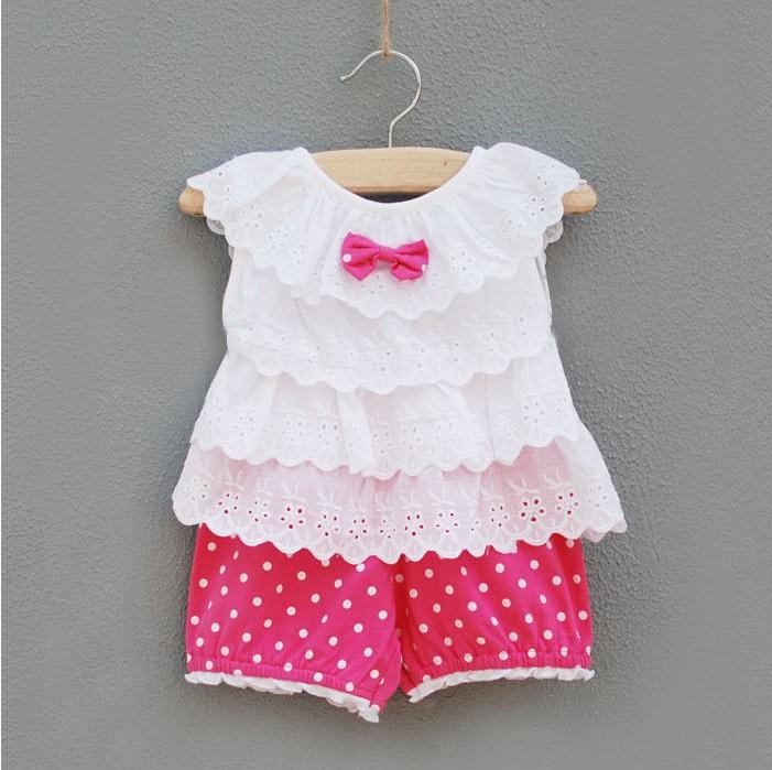 2014 nieuwe stijl baby meisje set zomerkleding set infantis kleding meisje merk katoen set baby - Bebe ontwerp ...