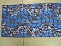 super dutch wax print cotton fabric SUITABLE FOR MAKING CURTAIN batik fabric 6 yards B-020