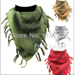 Free shipping Arab Scarf Square Scarf New Arab cotton Scarf for FPS game fans(China (Mainland))