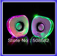 Sound Box USB Portable Speaker USB Mp3 speaker Stereo Mini Speaker Music MP3 Player noctilucent loudspeaker