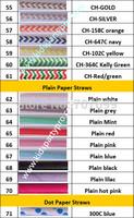 Free DHL/FEDEX/UPS 1500pcs Free shipping Paper Straws, Chevron Paper Straws, Drinking Paper Straws 15 colors mix