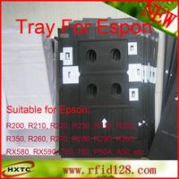 Plastic PVC ID Card Tray For Inkjet Printer Espon T60 T50 R280 R380 A50 P50 R260 R265 R270 R285 R290 R680 2013 Free Shipping