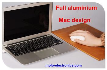 Ultrabook laptop aluminium notebook computer  intel Celeron 1037U W/optional for 4GB RAM 128GB SSD