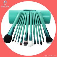 12 Pcs Professional Makeup Brushes Cup Set Zoreya Eyeshadow Foundation Powder Cosmetic Make up Brush Kit Maquiagem