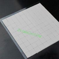 100PCS Lot 10X10x1MM White Xbox360 VGA CPU IC Chip Heatsink Thermal Paste Compounds Pad Pads