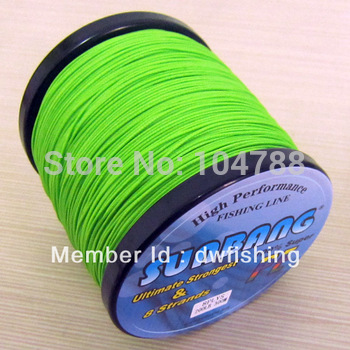 Free shipping 200LB 0.75mm 8 strands 300M Multifilament Braide Fishing Line Spectra Braid Fishing Line -- SUNBANG