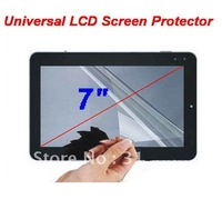 7 inch Universal Screen Protector of Display Film NOT Full-Screen for MID Tablet PC Free Shipping
