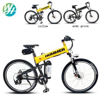 "Electric mountain bike 26""  Lithium polymer  battery bike   Electric folding bike Hummer bike"