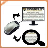 Low Vision Video 20x Magnifier, Mini Color Portable Reading Aid for your Mom / Dad Free Shipping
