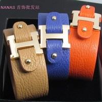 H friendship bracelets wristbands the bracelet  joia la shamballa  power and balance leather PU